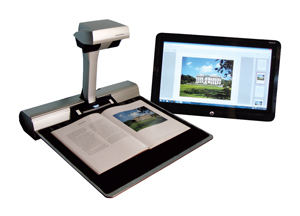 ST600 Overhead Book Scanner by ST Imaging