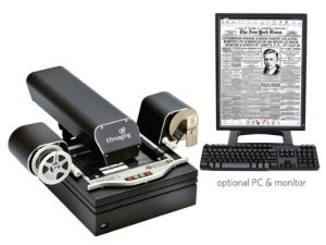 ST ViewScan III Microfilm Scanner replaces old reader/printers