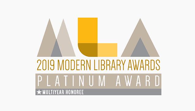 ViewScan Receives 5th Consecutive Modern Library Award
