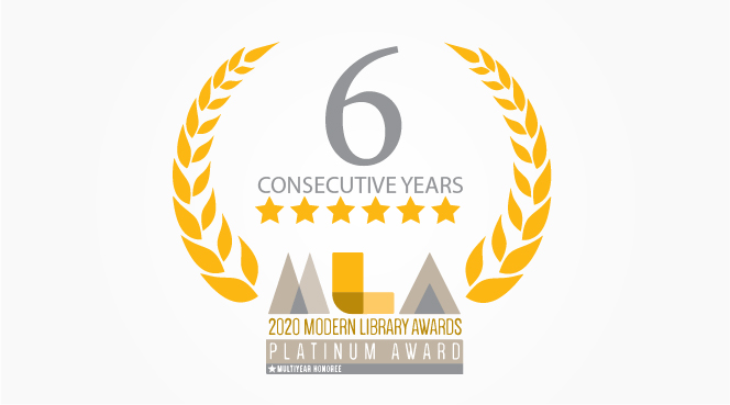 A SIXTH Platinum MLA Award to the ViewScan Microfilm Scanner